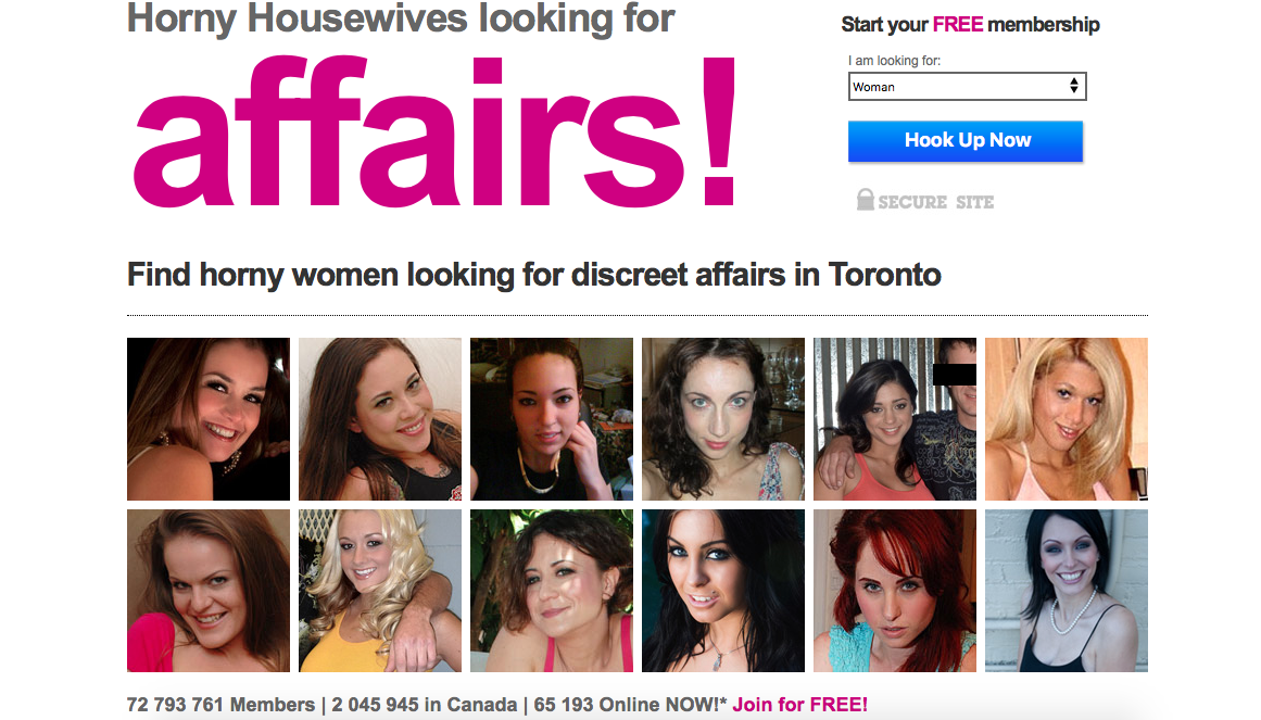 discreet affair sites
